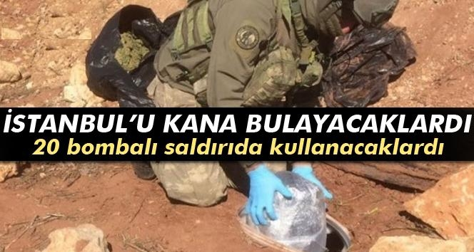 Diyarbakır'da 80 Kilo PETN Tipi Patlayıcı Ele Geçirildi