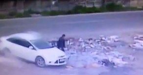 Diyarbakır'da Bombalı Aracın Bırakılma Anı Görüntüleri Ortaya Çıktı