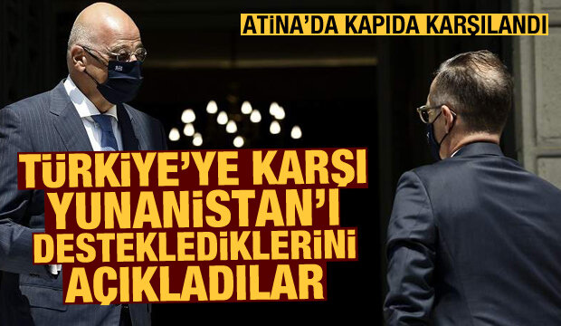 Doğu Akdeniz'de kriz: Türkiye'ye karşı Yunanistan'ı desteklediklerini açıkladılar