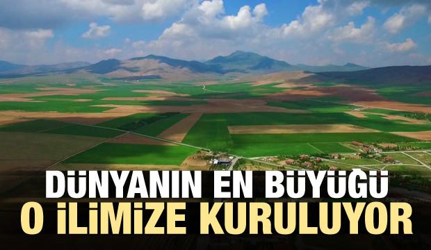Dünyanın en büyüğü Konya'ya kuruluyor