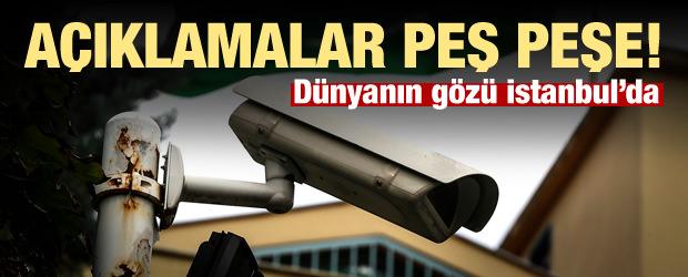 Dünyanın gözü İstanbul'da! Açıklamalar peş peşe