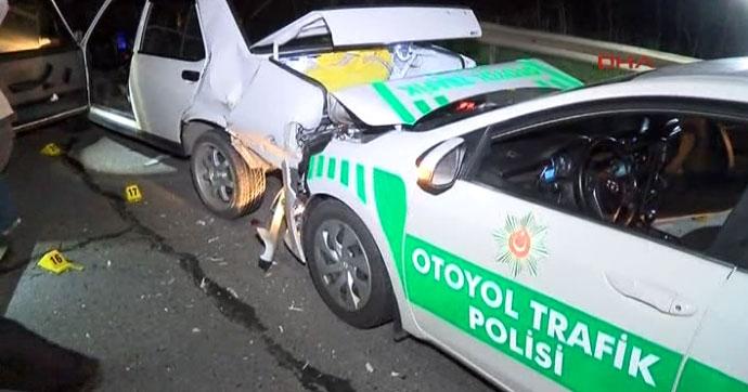 Dur İhtarına Uymayan Araç Polis Müdahalesi 1 ölü, 1 yaralı!