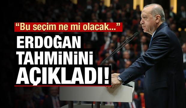 Erdoğan: 12 seçimde ne olduysa o olacak