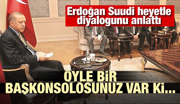 Erdoğan anlattı Öyle bir başkonsolosunuz var ki...