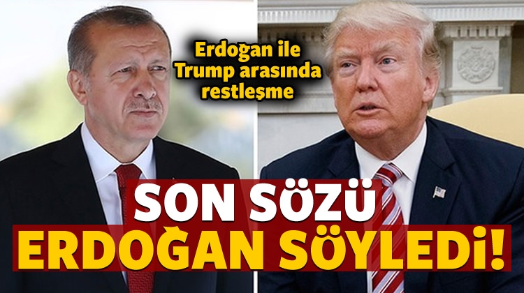 Erdoğan ile Trump arasında Münbiç restleşmesi!
