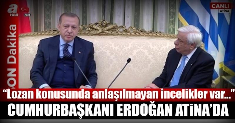 Erdoğan: ' Lozan'da Anlaşılmayan İnce Konular Var'