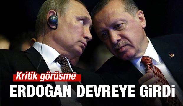 Erdoğan ve Putin'den kritik görüşme