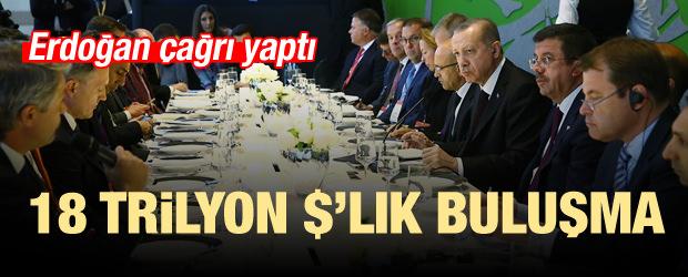 Erdoğan'dan 18 Trilyon $'lık Buluşma...