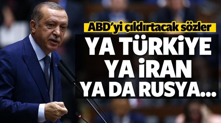 Erdoğan'dan ABD'ye Sert Sözler...