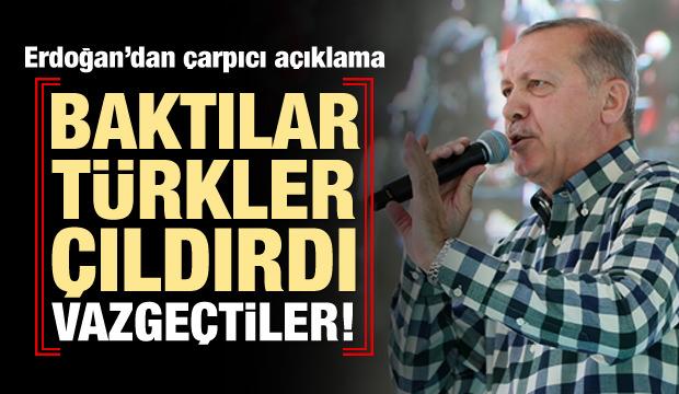 Erdoğan'dan Muharrem İnce'ye 'Kasket' Tavsiyesi