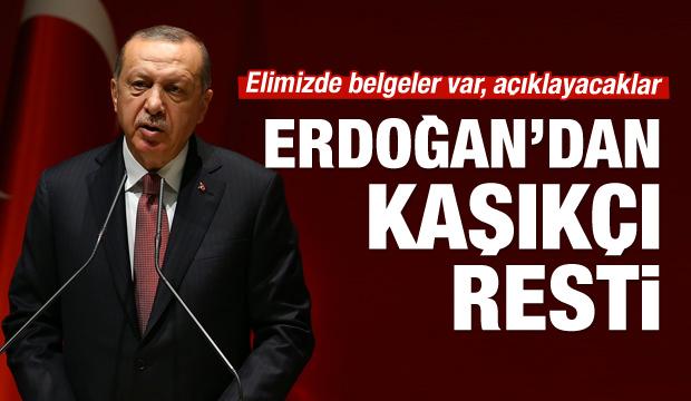 Erdoğan'dan net 'Kaşıkçı' açıklaması!