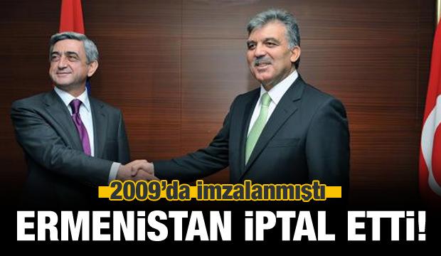 Ermenistan'dan Türkiye Kararı! İptal Ettiler...