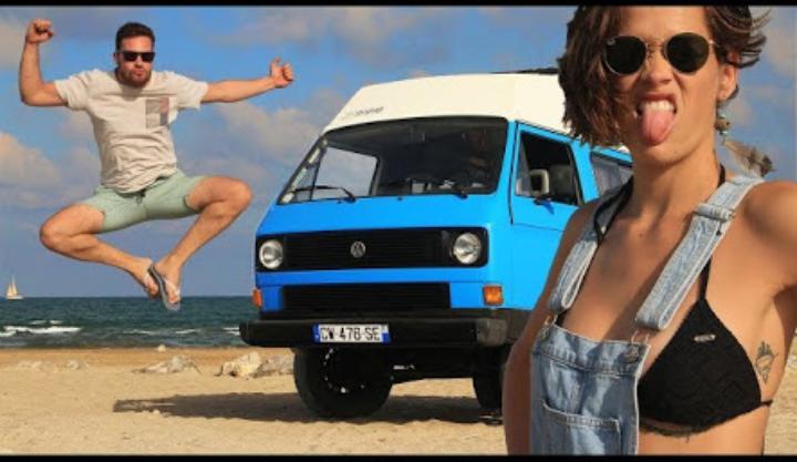 Eski Volkswagen Minibüse Tesla Motoru Takarak Dünyayı Dolaşan Çılgın Çift