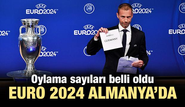 EURO 2024'ün ev sahibi Almanya!
