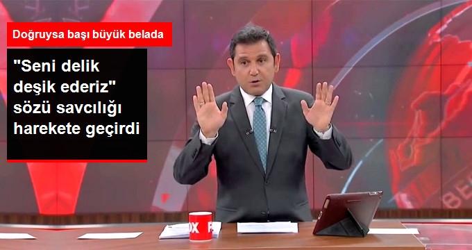 Fatih Portakal Hakkında Şok Suçlama: Seni Delik Deşik Ederiz