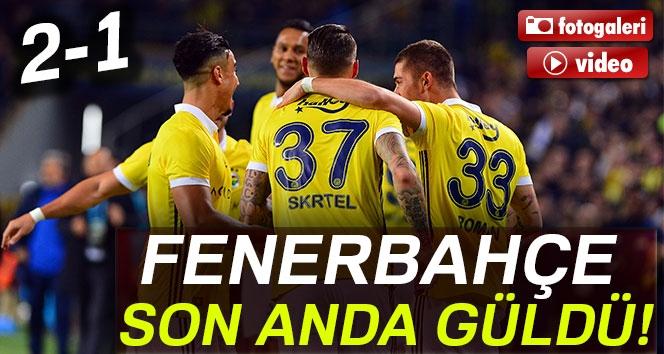 Fenerbahçe 2-1 Göztepe (Maç Sonucu)