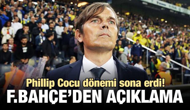 Fenerbahçe'de Cocu dönemi sona erdi!