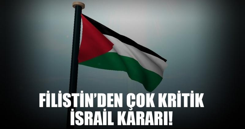 Filistin Devlet Başkanı Abbas: İsrail İle Tüm İlişkileri Kestik