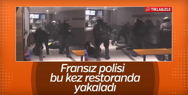 Fransız polisi Sarı Yelekliler'e acımıyor