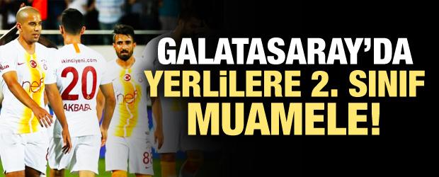 Galatasaray'da skandal! Sadece yabancılar...