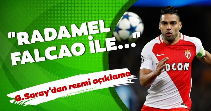 Galatasaray'dan Falcao transferi için resmi açıklama