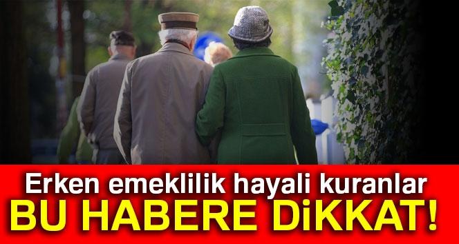 Genç Yaşta 'İhtiyar' Olanlara SGK'dan Az Primle Erken Emeklilik