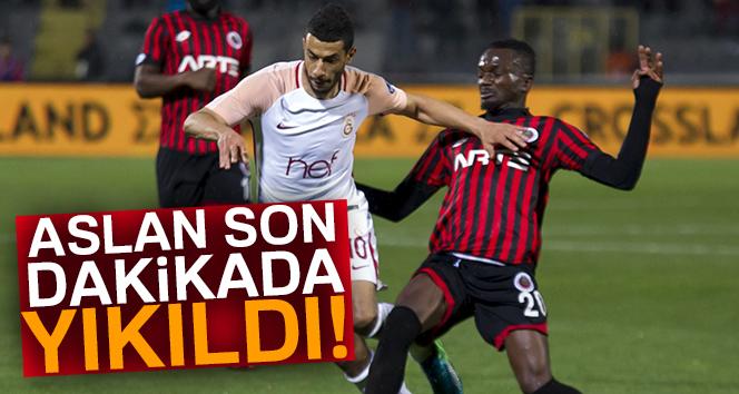 Gençlerbirliği 1-0 Galatasaray (Maç Sonucu)