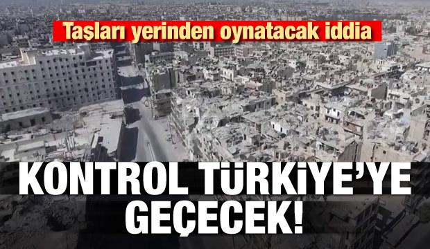 Halep'in kontrolü Türkiye'ye geçecek iddiası