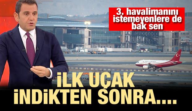 Havalimanını istemeyenler havalimanının ismini tartışıyor