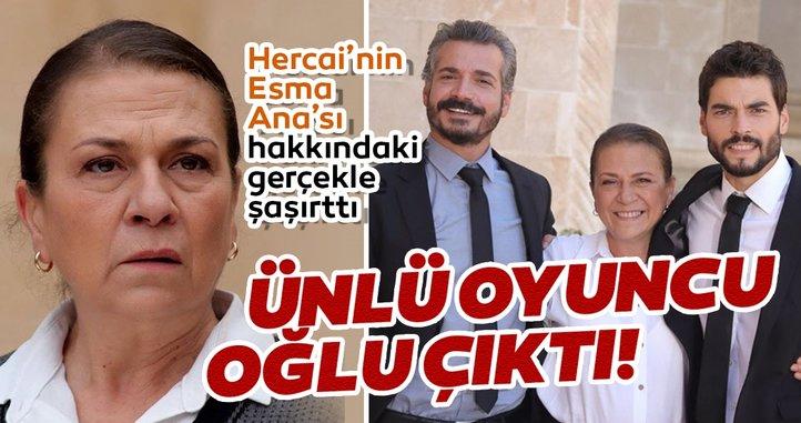 Hercai'nin Esma Ana'sı Güneş Hayat ünlü oyuncunun annesi çıktı! İşte Hercai'nin sevilen oyuncusu Güneş Hayat'ın oğlu...