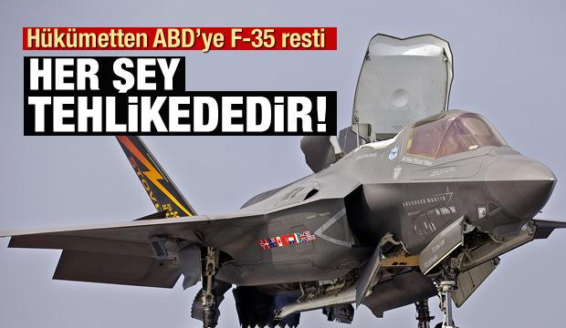 Hükümetten F-35 açıklaması: Her şey tehlikededir