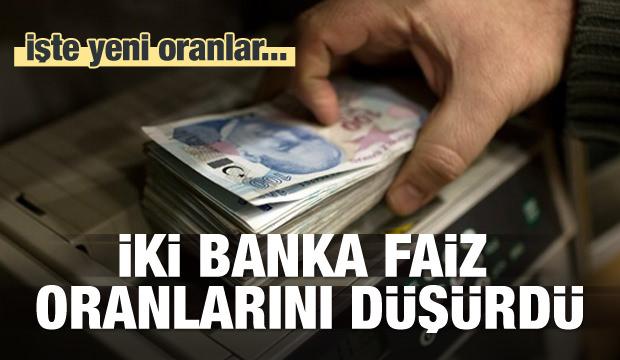 İki Banka Konut Kredi Faizlerini Düşürdü!
