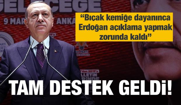 İlahiyat fakültelerinden Erdoğan'a tam destek