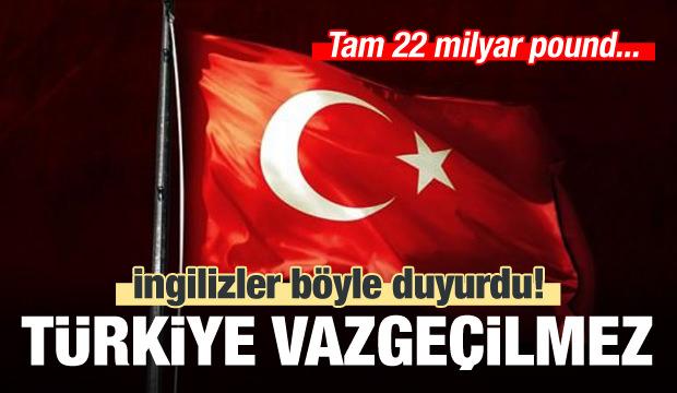 İngiliz şirket 'Türkiye'de yatırıma devam' dedi