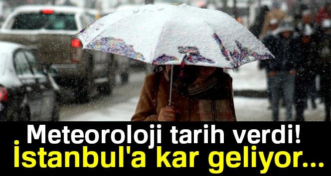 İstanbul'a Kar Ne Zaman Yağacak? Meteoroloji Tarih Verdi! İstanbul'a Kar Geliyor... | 10 Ocak 2018