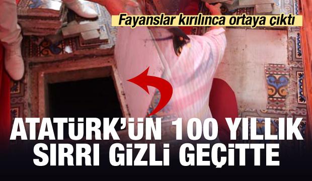 İşte Atatürk'ün vasiyetini yazdığı yer