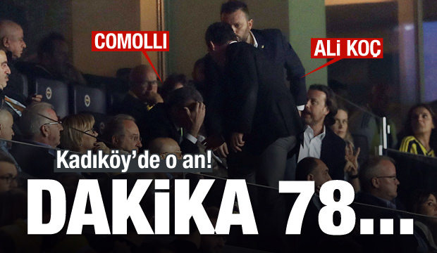 Kadıköy'de o an! Dakika 78...