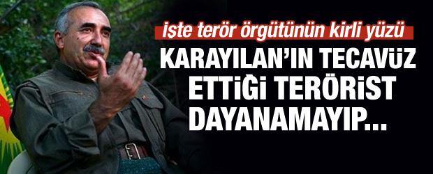Karayılan'ın tecavüz ettiği terörist intihar etti