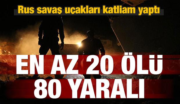Katliam yaptılar! En az 20 ölü 80 yaralı