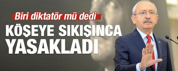 Kemal Kılıçdaroğlu'ndan vekillere medya uyarısı