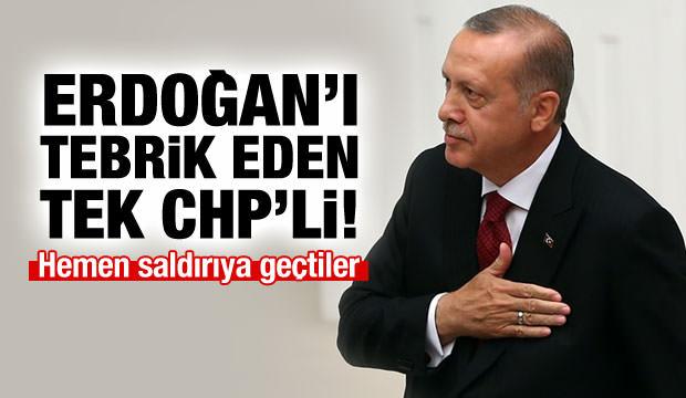 Kesici, Başkan Erdoğan'ı tebrik etti linç edildi