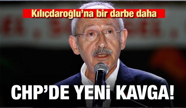 Kılıçdaroğlu'na bir darbe daha! CHP'de yeni kavga