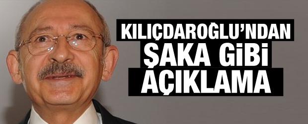 Kılıçdaroğlu'ndan Şaka Gibi Sözler!