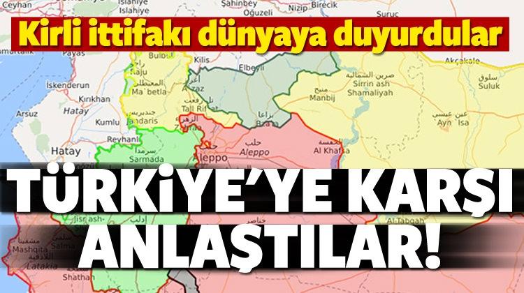 Kirli İttifak! Türkiye'ye Karşı Anlaştılar!