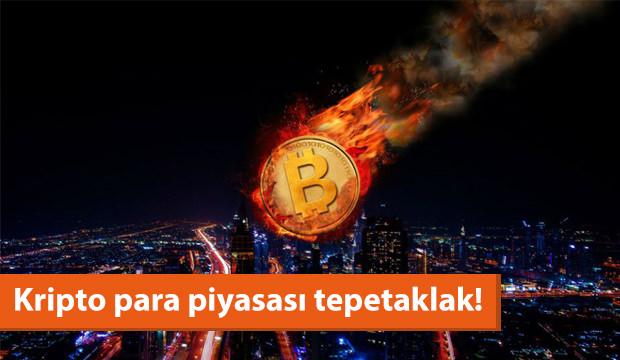 Kripto Para Piyasası Tepetaklak!