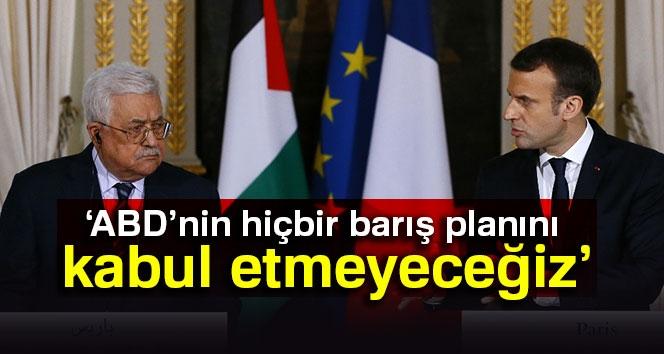 Macron: 'ABD'nin Hiçbir Barış Planını Kabul Etmeyeceğiz'