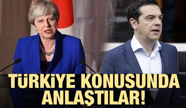 May ile Çipras Türkiye konusunda anlaştı