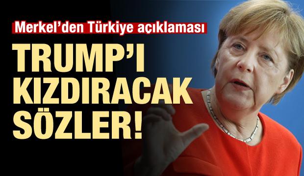 Merkel'den Türkiye'ye Destek Açıklaması!