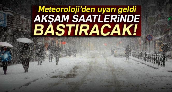 Meteoroloji'den Kar Yağışı Açıklaması   7 Aralık 2017 Yurtta Hava Durumu