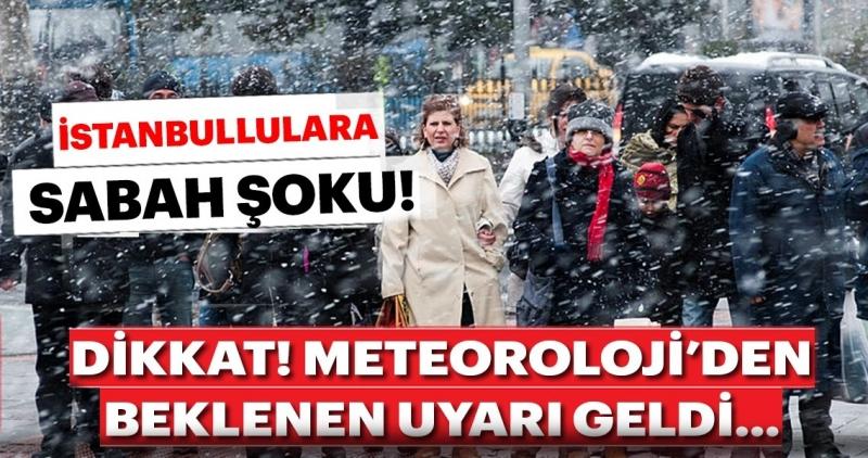 Meteoroloji'den son dakika hava durumu uyarısı geldi! İstanbullular dikkat